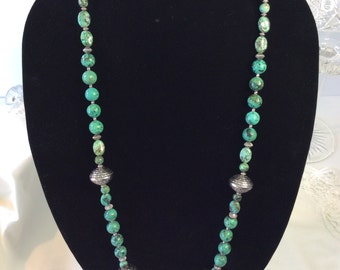 African Turquoise Necklace