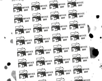 Office Day Stickers