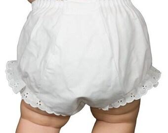 MULTIPLES PREMIE monogram BLOOMERS newborn Monogrammed Diaper Cover