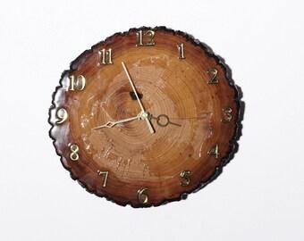Basswood Wall Clock