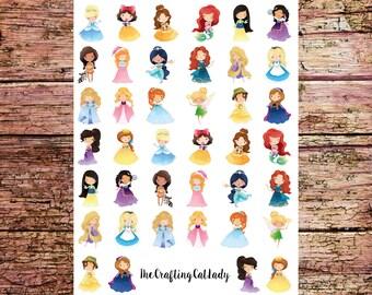 Princess Planner Stickers