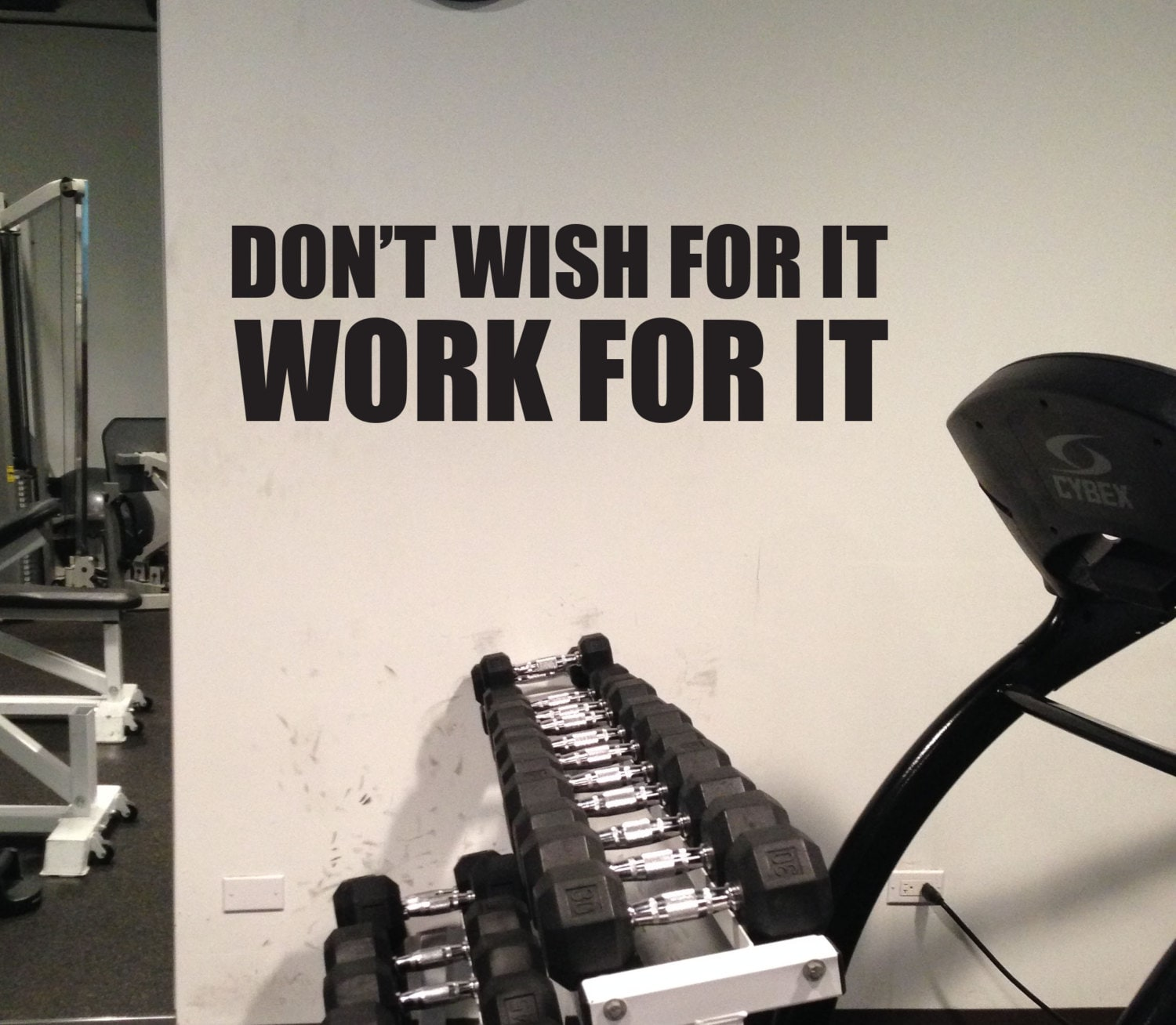 Gym Wall Design: Physical Therapist Office Decor, Sports Quote Decor, Home
