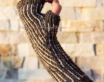 Briochet Mitts (crochet pattern)