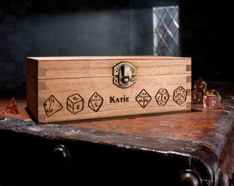 Add Custom Text/Name to the front of my Dice Box