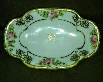 Vintage small Nippon China Trinket Dish