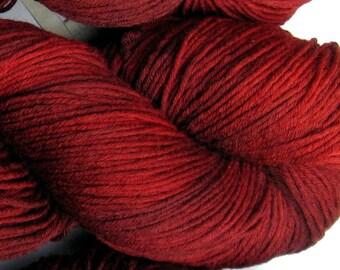 Poison Apple 2 - Three Hares, sock superwash merino 8ply - 100g, 400yds