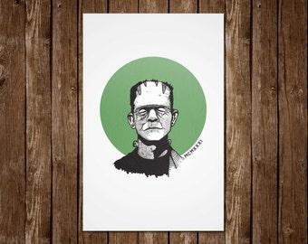 It's Alive! Frankenstein Print - 11x17