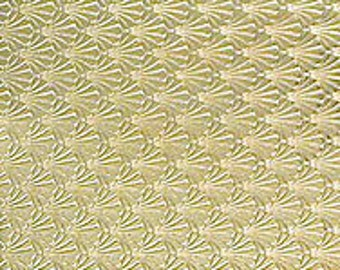 T & S Brass >> Textured Brass Sheet 6 X 2.5 Br81 Large Bracelet