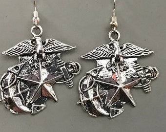 US Navy Emblem Earrings, Really nice, go Navy