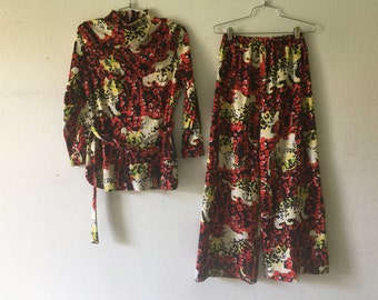 Vintage 60s Blouse and Pants