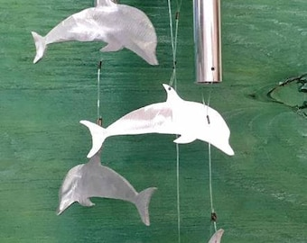 Dolphine wind chime
