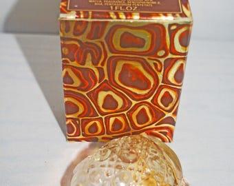 Avon Treasure Turtle with Sweet Honesty Cologne 1971-73 Original Box Almost Empty