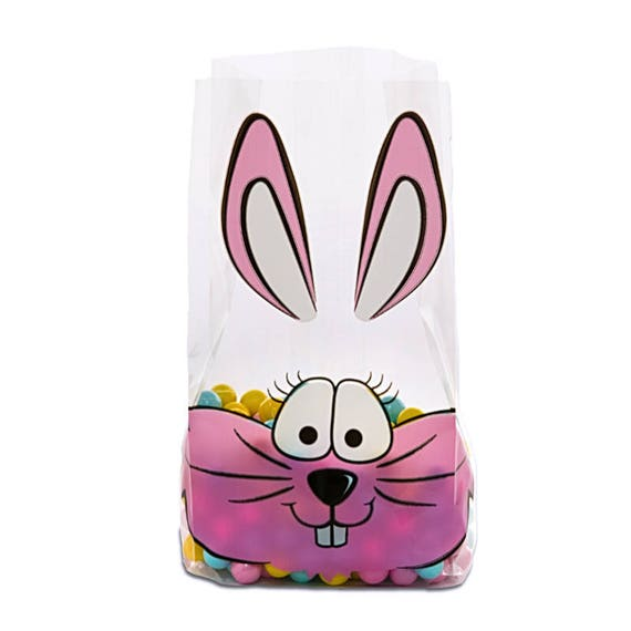 100 Easter Bunny Party Favor Bags