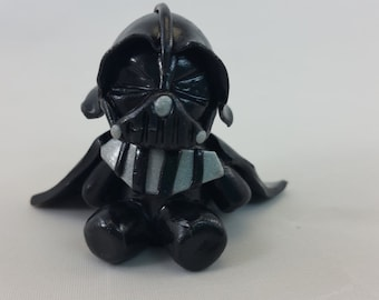 Polymer clay inspired Darth Vader figurine