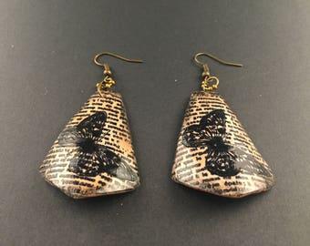"""Earrings """"Seeker of butterflies"""""""