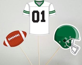Football Centerpieces, Football Jersey, Football, Football Helmet