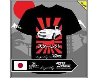 T-shirt Toyota Starlet GT turbo EP82