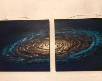34 & 7 - Space ART! Canvas Decor