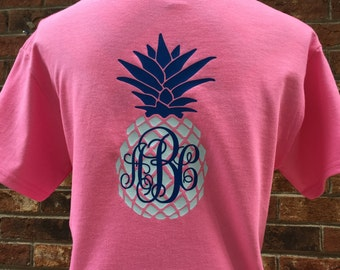 Pineapple Monogramm