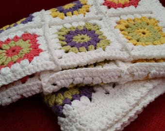 Beautiful colourful baby blanket
