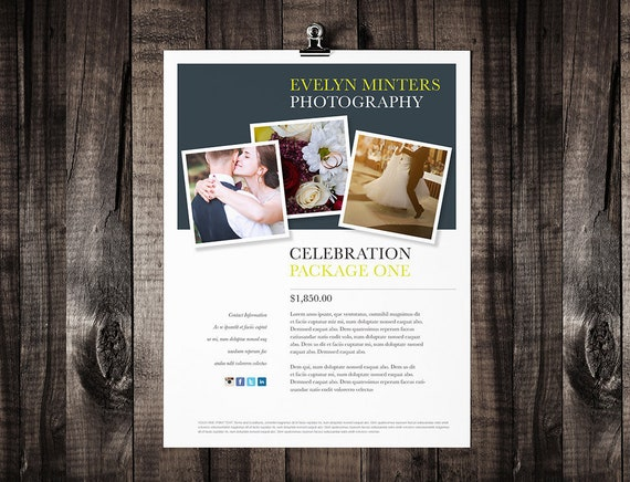 Printable Brochure Template Design Flyer Template Editable - Printable brochure template