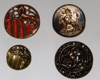 Assortment of various fantasy buttons (8 buttons)