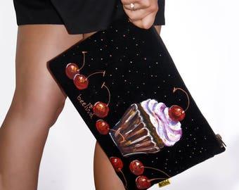 Evening purse, Evening bag, Evening clutch, Clutch purse, Bridesmaid clutch, Bridesmaid bag, Bridesmaid wristlet, Bridal clutch, Formal bag