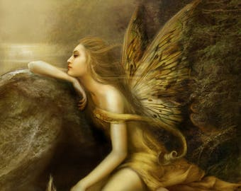 Psychic fairy card reading, 3 question, 24 HR, Clairvoyant, Via PDF