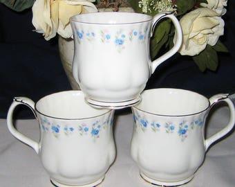 Royal Albert Memory Lane - Montrose Coffee Mugs (3)