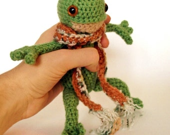 Benjamin Froggins - Frog Amigurumi Crochet Pattern