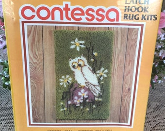 "NEW Latch Hook Kit ""OWL"" by Contessa"