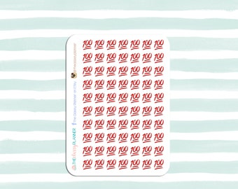 100 Emoji Stickers