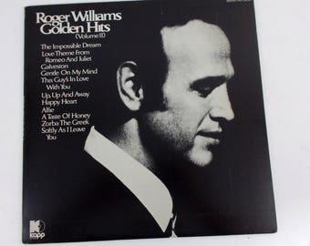 Roger Williams Golden Hits Volume 2 Vinyl LP Record Album KS 3638
