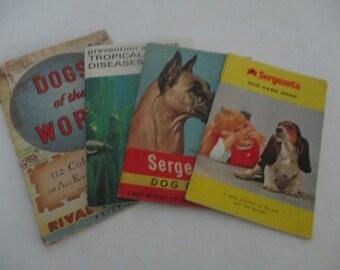 Vintage Pet Ephemera Booklets