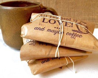 Valentines Day Gift IdeaUnique Gift. Ready to ship. Gift under 20. Freshly roasted coffee. Unique Gift for All. Set of 3