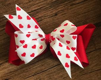 Valentine's Heart Ribbon