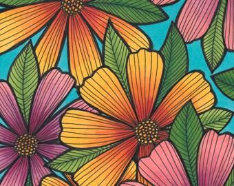 Flower Power 5x7 Print