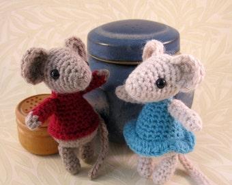Wee Mousie Amigurumi Pattern PDF - Crochet Pattern