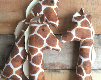 Baby gift toy giraffe stuffed animal - Benjamin