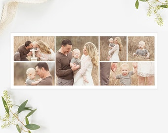 Collage Facebook Cover Template for Photographers, Facebook Timeline Cover Template Photoshop, Facebook Cover Photo, Header Template  FB198