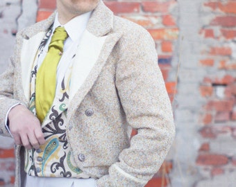 Tweed and Silk Morning Coats, Frocks, and Tailcoats