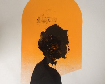 SUNSET - Hand Pulled Screen Print