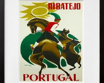Art Portugal Travel Print Vintage Poster (TR158)