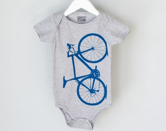 VITAL BICYCLE 12-18 months Infant Heather One Piece Lapis BLUE