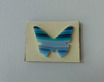 96 COE Glass Precut Butterfly