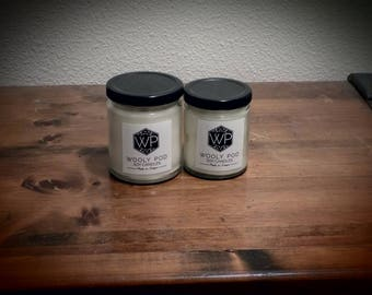 Two 9 oz soy candles for 38 and get one a 6 oz for free