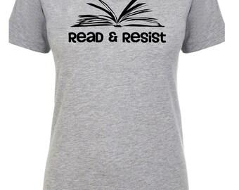 Librarian Shirt, Read and Resist T Shirt, She Persisted Shirt, Feminist Shirt, Warren Shirt, Nevertheless T-shirt, Nevertheless Tee, Library
