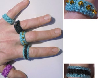 Knitted Rings