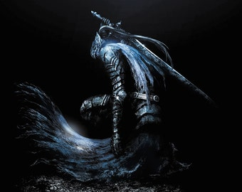 Dark Souls Astorias Video Game Poster