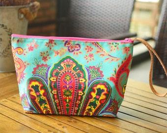 Handbags Clutch Bag Wrist let Toiletry Bag Cosmetic Bag Clutch Purse Hipster Bags, Handbag Bag Hippie Boho Woven Summer Hobo Yoga